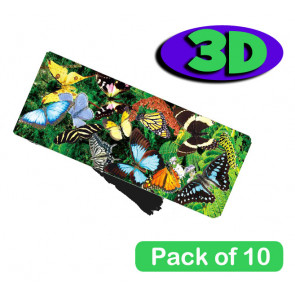 3 Dimensional Bookmarks | Beautiful Butterflies