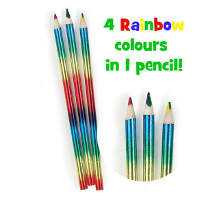 Party Bag Filler | Rainbow Writer Pencils - Packs of 10