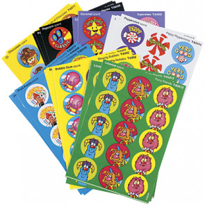 Colourful Favourites Smelly Stickers for Kids