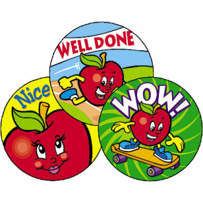 Amazing Apples Smelly Stickers for Teachers