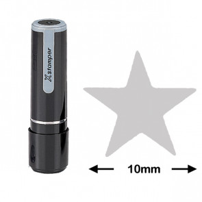 Reward / Loyalty Stamp | Silver Star (10mm)