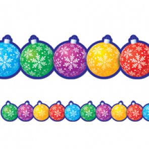 Display trimmers / borders | Christmas Baubles Classroom Display Border