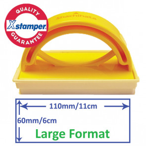 Custom Stamp   Large Stamp, Self-inking for School / Office Use