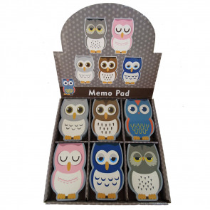 Teacher Class Gifts | Cute Owl Small Notepads for Kids