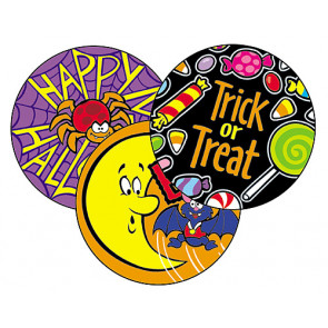Scratch 'n Sniff Happy Halloween Stickers for Kids