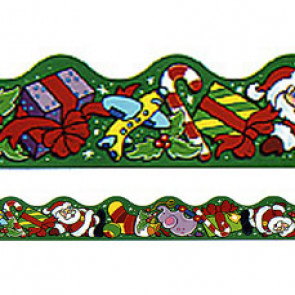 Classroom Borders  | Christmas Fun Trimmers for Class Displays