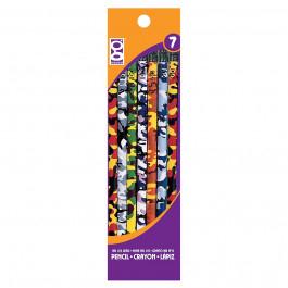 Crayons Pixels/Camouflage