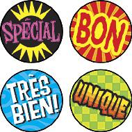 Stickers Langue