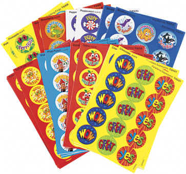Praise Words Smelly Stickers for Kids