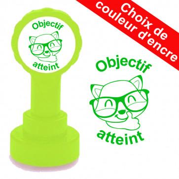 Tampons Auto Encreurs | Objectif atteint tampon autoencreur. Choix de couleur d'encre. Tampons de LaMaitresseSev