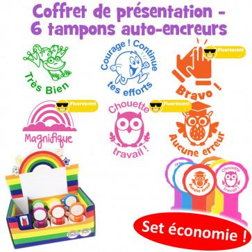 School Stamps | French Language Teacher Stamps - Les mots d'éloge