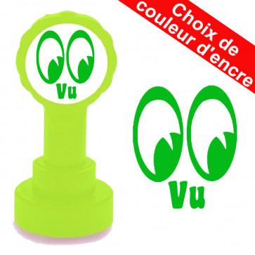 Tampon auto-encreur   Vu Conception Yeux