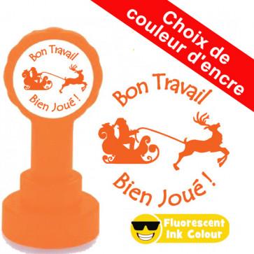 Tampons Encreur Ecole | Bon Travail, Bien Joué !s - Tampon Encreur Enseignants Noël.