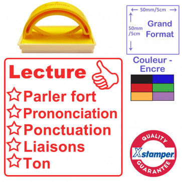 Tampon auto-encreur | Lecture