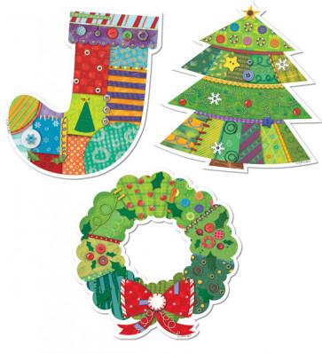 Classroom Display | Christmas Cut Out Decorations (Jumbo)