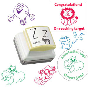 Teacher Custom Stamper | Ideal for  Rectangle / Square & Round Stamp Designs
