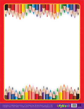 Classroom Teacher Resources | Crayons Design Wipe Off Poster