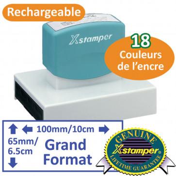 Tampon personnalisé   Grand format - Xstamper N28
