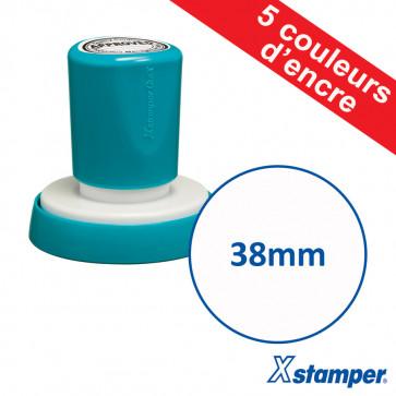 Tampon personnalisable | Xstamper Quix 38mm, Auto-encreur