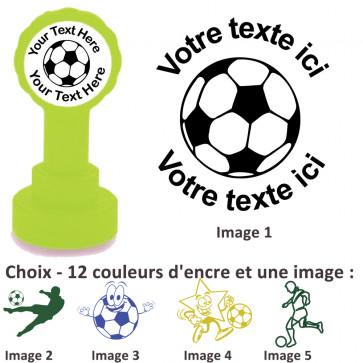 Tampons Encreur   Images Football - Tampon Personnalisé Pour Enseignant