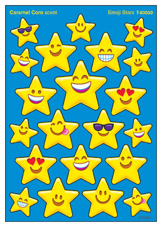 Kids Stickers | Rainbow Stars SuperShapes Stickers