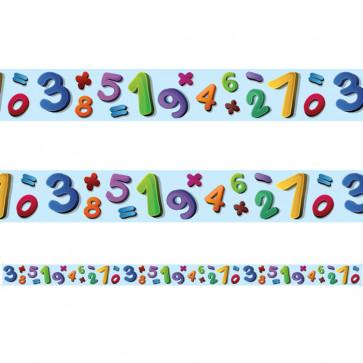 Classroom Borders | Number Jumble Borders for Class Displays