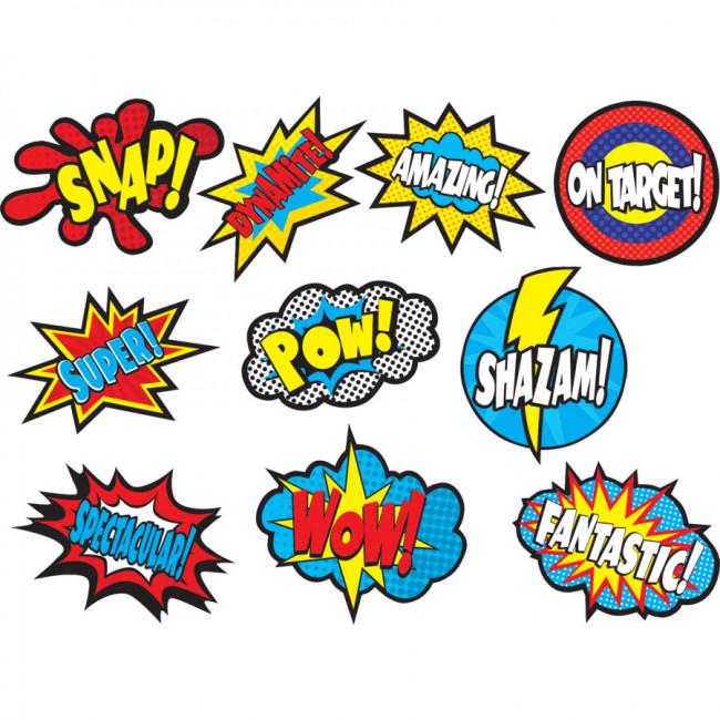 Superhero Classroom Decor Printables ~ Classroom display superhero sayings cut out cards