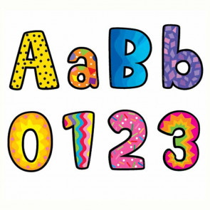 Classroom Display Letters and Numbers | Poppin Patterns