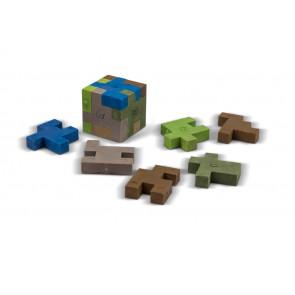 Kids Erasers   Minecraft Block Style Puzzle Erasers
