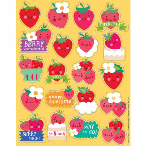Smelly Stickers | Autocollants Récompense au Parfum Doux de Fraise.