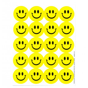 Autocollants Smiley au Parfum Fort de Citron