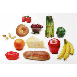 Classroom Display | 24 Nutritious Foods 2-Sided Decorations