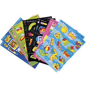 Fun Fest Variety Sticker Pack for kids