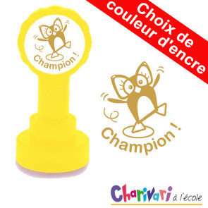 Tampon Encreur | Champion ! Tampons encreurs de Charivari
