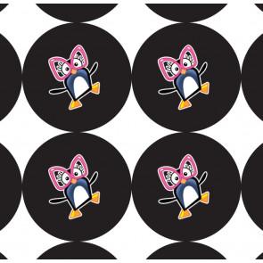 Stickers | Ceinture Noire Autocollants de Charivari à l'école
