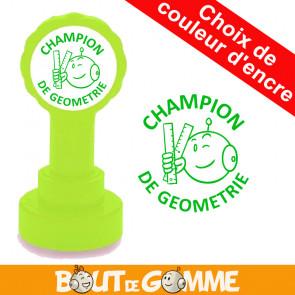 Tampons Encreurs | CHAMPION DE GEOMETRIE - Tampons de Bout de Gomme