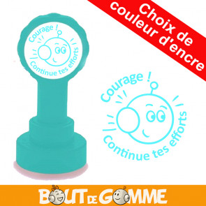 Tampons Enseignants | Courage ! Continue tes efforts ! - Tampons de Bout de Gomme