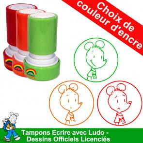Tampons Ludo | Champion de copie - Tampon Ecole Auto Encreur
