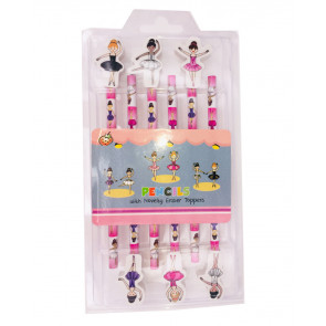 Class Gifts | Ballerina Pencils & Topper Gift Set
