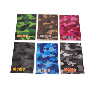 Teacher Class Gifts | Block Camoflage Small Notepads for Kids
