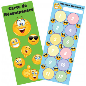 Bookmarks for Kids | Emoji Reading is Cool Double Sided Bookmarks