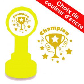 Tampons Encreurs Enseignants | Champion Or Trophée