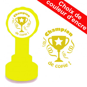 Tampons Encreurs Enseignants | Champion de copie Trophée