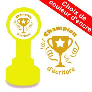 Tampons Encreurs Enseignants | Champion d'écriture Trophée.