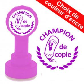Tampon auto-encreur   Champion de copie