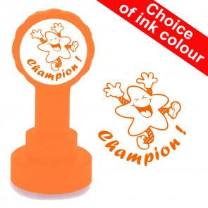 Tampon auto-encreur | Champion! Etoile Jolly