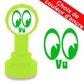 Tampon auto-encreur | Vu Conception Yeux