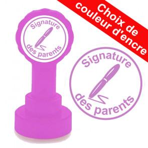 Tampon enseignant | Signature des parents Tampon auto encreur