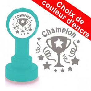 Tampons Encreurs Enseignants | Champion - Argent Trophée