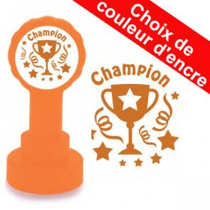 Tampons Encreurs Enseignants | Champion - Bronze Trophée.